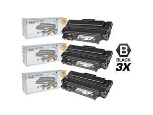 LD © Compatible Dell 1130, 1130n, 1133, 1135n Set of 3 Dell  330-9523 (7H53W) Laser Toner Cartridges