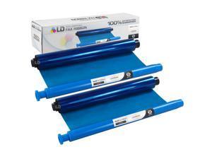 LD © Compatible Panasonic KX-FA92 Black Fax Refill roll (2-Pack)