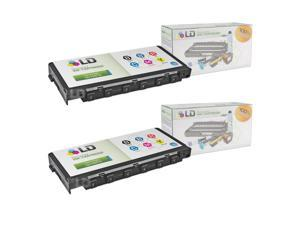 LD © Remanufactured Epson T5570 Set of 2 Black Inkjet Cartridges for use in Epson PictureMate, PictureMate Deluxe Viewer ...