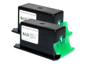 LD © Compatible Black Laser Twin Pack Toner Cartridge for Canon 1363A002AA (NP3000)