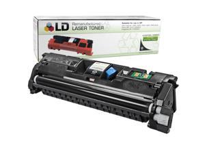 LD © Remanufactured Replacement Laser Toner Cartridge for Hewlett Packard C9700A (HP 121A) Black