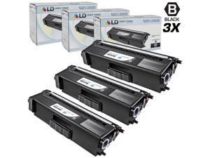LD © Compatible Brother TN315Bk (TN310Bk) Set of 3 High Yield Black Toner Cartridges for HL-4150cdn, HL-4570cdw, HL-4570cdwt, ...