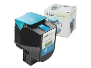 LD © Remanufactured Extra High Yield Cyan Laser Toner Cartridge for Lexmark C544X2CG