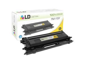 LD © Remanufactured Brother TN115Y High Yield Yellow Laser Toner Cartridge for use in Brother DCP, HL, and MFC Printer Series