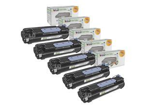 LD © Canon Compatible #106 (0264B001AA) Set of 5 Black Laser Toner Cartridges for use in the ImageClass MF6530, MF6540, MF6550, ...