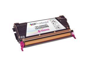 LD © Remanufactured C5222MS Magenta Laser Toner Cartridge for Lexmark (C520/C522 Series Printers)