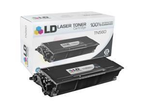 LD © Compatible Replacement for Brother TN560 High Yield Laser Toner Cartridge for use in Brother DCP, HL and MFC Series ...