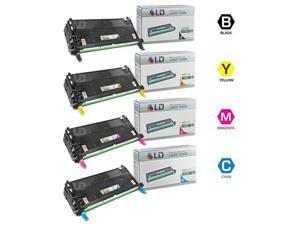 LD © Remanufactured Dell 3130cn Toner Set of 4 Cartridges 1(Bk,C,M,Y)