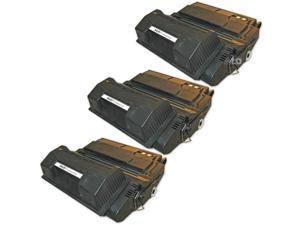 LD © Remanufactured Replacement Laser Toner Cartridges for Hewlett Packard Q1339A (HP 39A) Black (3 Pack)