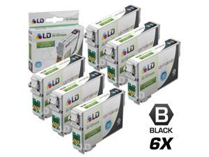 LD © Remanufactured Epson T126120 Set of 6 High Capacity Black Ink Cartridges