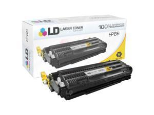LD © Remanufactured Yellow Laser Toner Cartridge for Canon 6827A004AA (Canon EP-86)
