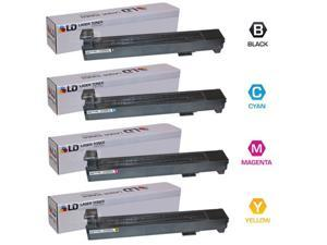 LD © Remanufactured Replacement Laser Toner Cartridges for HP Color LaserJet CM6030/CP6015: 1 Black CB380A, 1 Cyan CB381A, ...