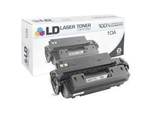 LD © Remanufactured Replacement Laser Toner Cartridge for Hewlett Packard Q2610A (HP 10A) Black