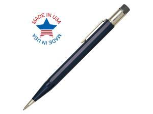 Autopoint All-American Jumbo 0.9mm Mechanical Pencil Dark Blue Barrel