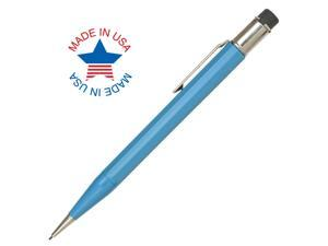 Autopoint All-American Jumbo 0.9mm Mechanical Pencil Light Blue Barrel