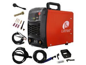 LOTOS TIG140 140amp DC TIG/Stick TIG Welder Dual Voltage