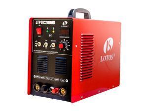 Lotos LTPDC2000D 50A Pilot Arc Plasma Cutter - 200A Tig/Stick Welder