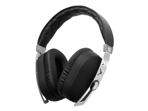 SOUL Jet Pro Hi Definition Noise Cancelling Headphones w/ Professional Cable - Deluxe Silver Edition