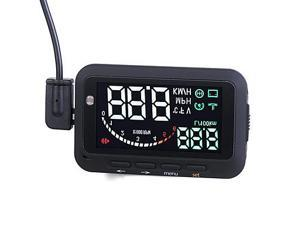 Ifound Updated 2nd Gen Car HUD Vehicle-mounted Head Up Display System OBD ? Universal Overspeed Warning