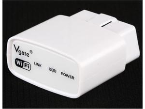 Vgate Wi-Fi ELM327 Mini OBD2 Car Diagnostic Scanner (White)