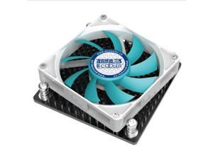 Slim CPU Cooler Copper Heatsink Fan for INTEL LGA1150/1155/1156
