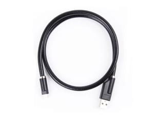 60cm Flexible Stand Holder Mount USB Data Cord Cable for Apple Iphone 5 5G 5s 5c