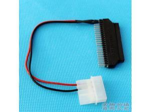 44 Pin 2.5 Inch IDE Female to 40 Pin 3.5 Inch IDE Male HDD Cable Adapter
