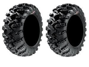 Pair of GBC Grim Reaper Radial (8ply) ATV Tires [26x9-14] (2)