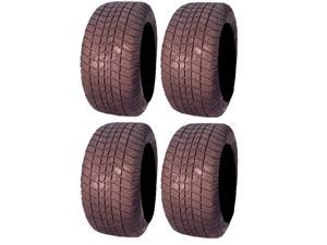 Full set of Excel Classic 255x50-12 (4ply) Golf Cart Tires (4)