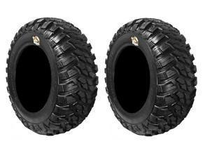 Pair of GBC Kanati Mongrel (8ply) DOT ATV Tires [26x10-12] (2)