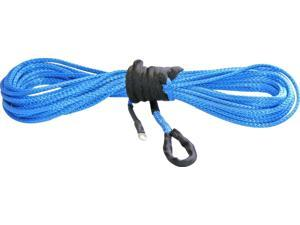 "KFI Blue Synthetic ATV Winch Cable 1/4"" x 50' [SYN25-B50]"