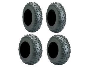 Full set of Carlisle Trail Pro (4ply) ATV Tires 26x9-12 and 26x11-12 (4)