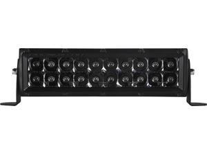 "Rigid Industries E-Series 10"" Midnight Edition LED Spot Light White [110212BLK]"