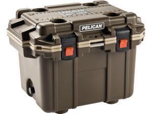 Pelican IM Elite Cooler, Brown/Tan, 30qt