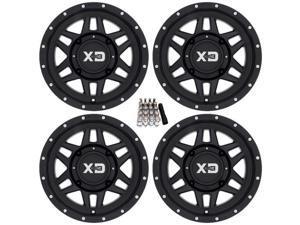 "KMC XS128 Machete UTV Wheels/Rims Black 14"" Polaris RZR 1000 XP / Ranger 900 XP"
