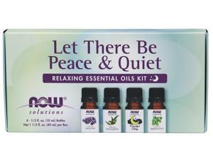 Now Foods Solutions, Let There Be Peace & Quiet, Relaxing Essential Oils Kit