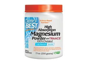 Doctor's Best High Absorption Magnesium Powder, 7.1 oz (200 g)