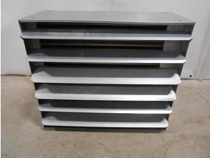 200,000 BTU Hydronic Hot Water Hanging Unit Heater - Single Speed Fan