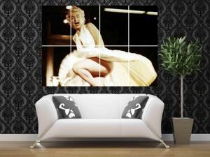 Marilyn Monroe 46 x 32 inches 116 x 81 cm vintage large huge giant poster print picture home decor photo wall art AA02