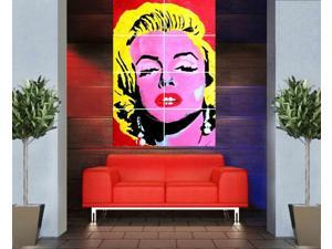 Marilyn Monroe 46 x 32 inches 116 x 81 cm vintage large huge giant poster print picture home decor photo wall art AA08