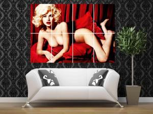 Marilyn Monroe 46 x 32 inches 116 x 81 cm vintage large huge giant poster print picture home decor photo wall art AA14
