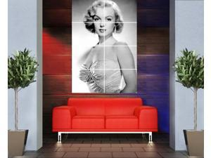 Marilyn Monroe 46 x 32 inches 116 x 81 cm vintage large huge giant poster print picture home decor photo wall art AA22