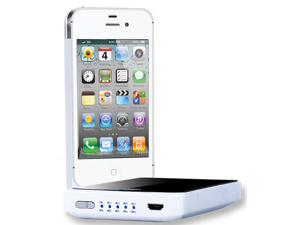 iPhone 4/4s Charging Case with FM Transmitter