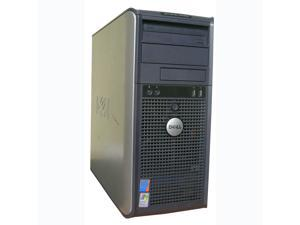 DELL OptiPlex GX620 Mini-Tower PC Pentium 4, 4GB ram, 80GB HDD, DVD Windows 7 Professional x32
