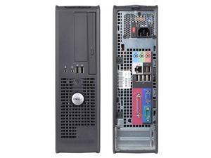 Dell Optiplex GX520 DT Desktop PC - P4, 80GB HD, 2GB RAM DVDR,Windows 7 Home 32 bit