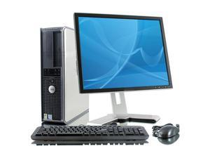 """Dell Optiplex GX620 Desktop Computer Set - 2 GB RAM, 400 GB HDD, 17"""" LCD, Win XP Pro"""