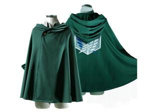 Anime Attack on Titan no Kyojin Cloak Cape Clothes Cosplay Costume