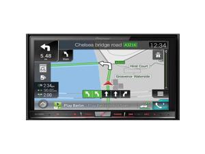 """Pioneer AVIC-8000NEX Navigation DVD CD Receiver with Motorized 7"""" Touchscreen with Built in HD Radio and Bluetooth"""