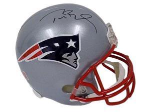 Tom Brady Signed New England Patriots Full Size Replica Riddell Helmet TriStar
