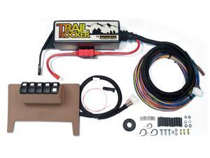 Painless Wiring 57001 8-Switch Fused Panel Fits 11-15 Wrangler (JK)